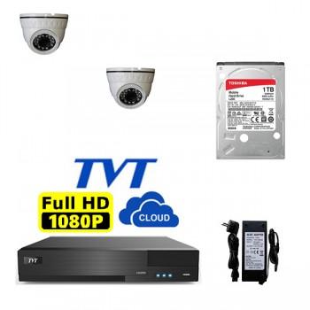 ΠΑΚΕΤΟ CCTV 2 ΚΑΜΕΡΕΣ HD ΜΟΝΟ ΜΕ 290 ΕΥΡΩ
